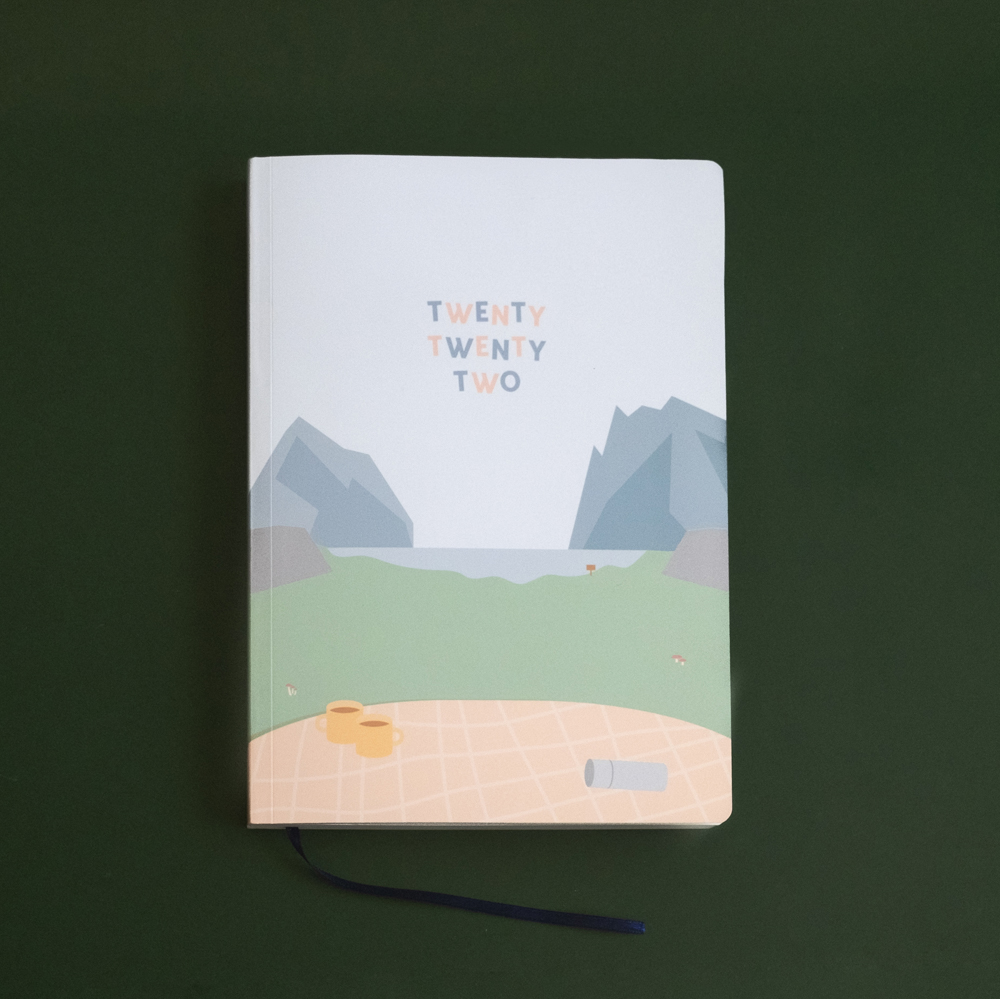 Adventure: 2022 A5 Weekly Planner by Helumi